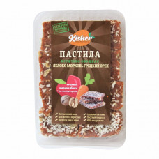 Пастила Яблоко-Морковь-Грецкий орех 250гр