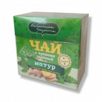 "Чай ""Матур"" зеленый в пирамидках"