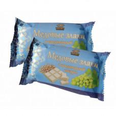 Медовые злаки в белом шоколаде, 100 г